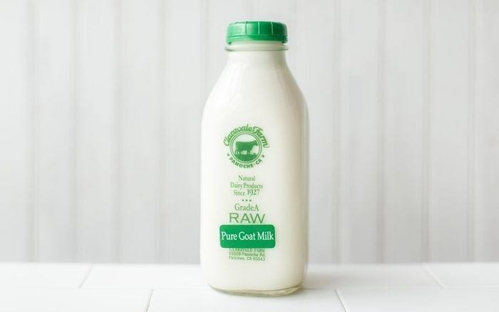 Claravale Farm Raw Pure Goat Milk
