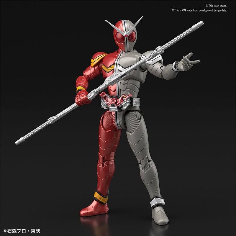 Bandai Kamen Rider Double Heat Metal Figure Rise Standard Model Kit