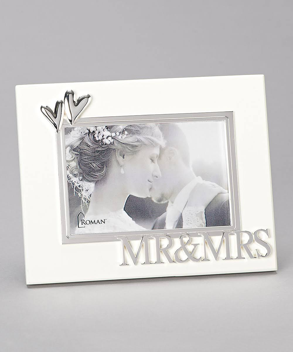 Roman 12003 Mr and Mrs Photo Frame