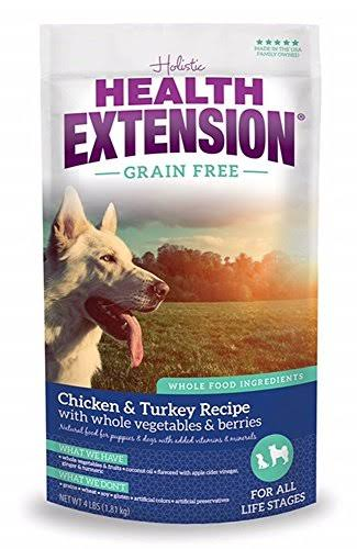Health Extension Grain Free Dry Dog Food - 10lbs