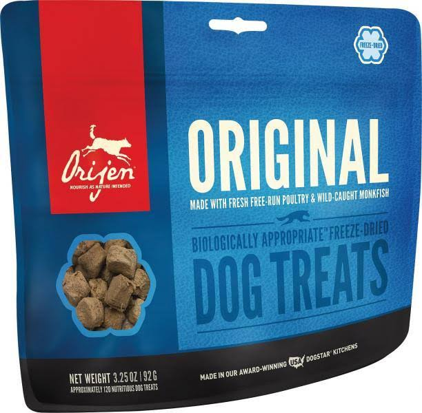 ORIJEN Freeze Dried Original Dog Treats - 1.5 oz