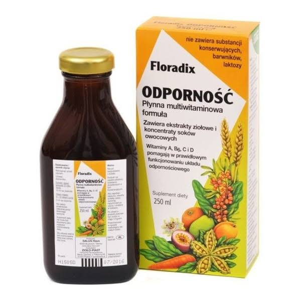 Floradix Epresat Liquid Multivitamin Formula - 250ml
