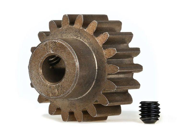 Traxxas Gear, 18-t Pinion 1.0 Metric Pitch Fits 5mm Shaft
