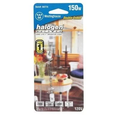 Westinghouse Lighting 04774 Corp Double Ended Halogen Bulb - T3, 150w
