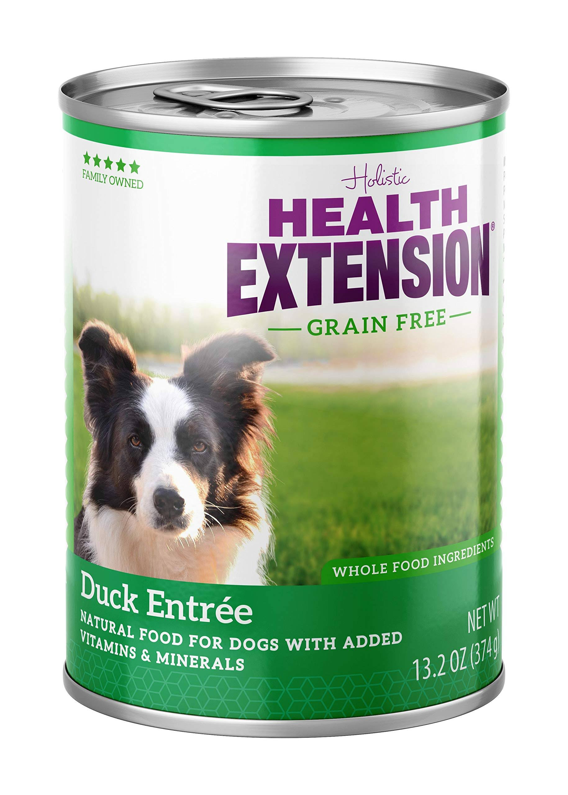 Health Extension Grain Free Canned Dog Food - Duck Entree with Sweet Potatoes