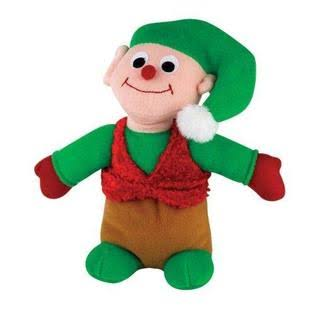 Chew Holiday Friends Dog Toys - Elf, 11""
