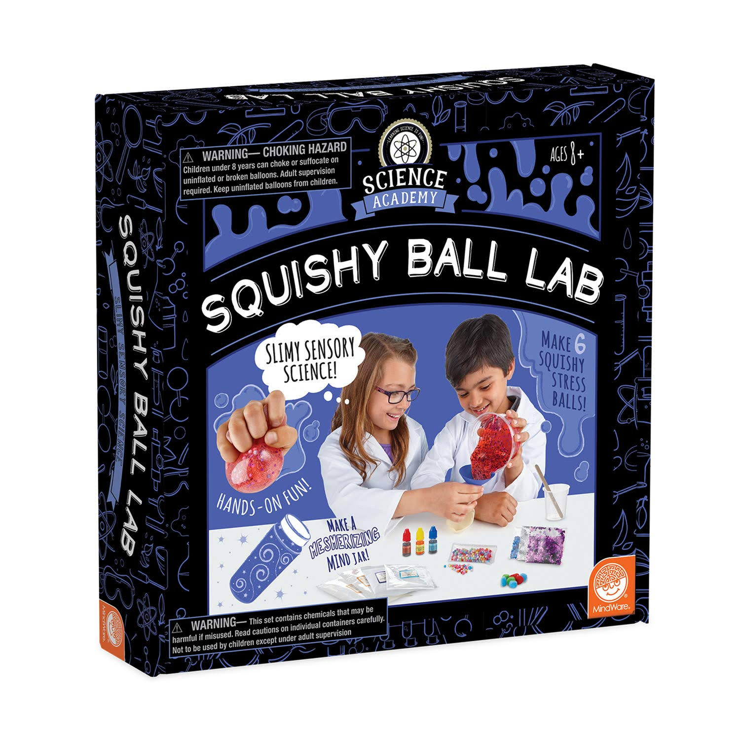 MindWare Science Academy Squishy Ball Lab