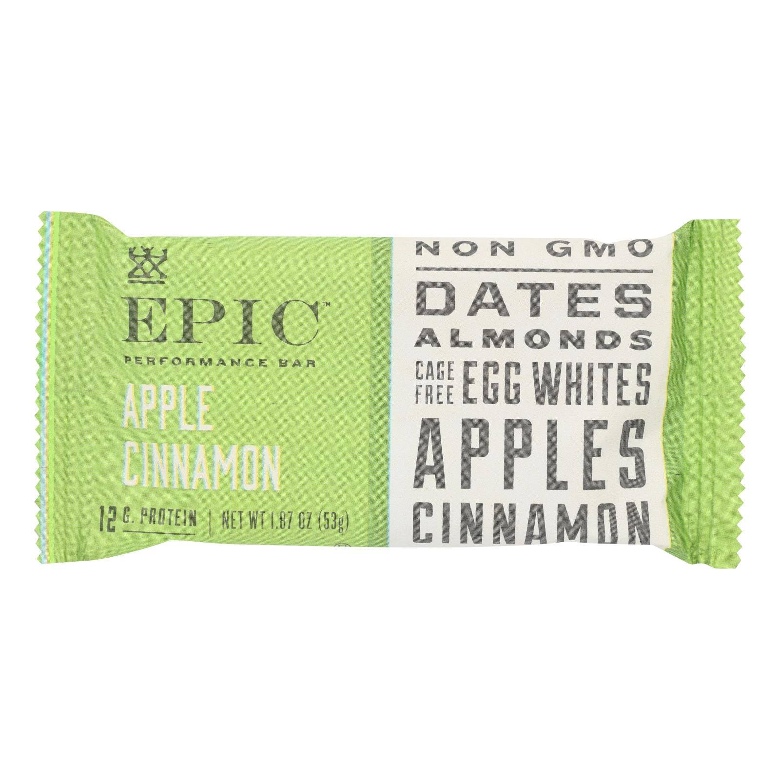 Epic: Apple Cinnamon Performance Bar, 1.87 oz