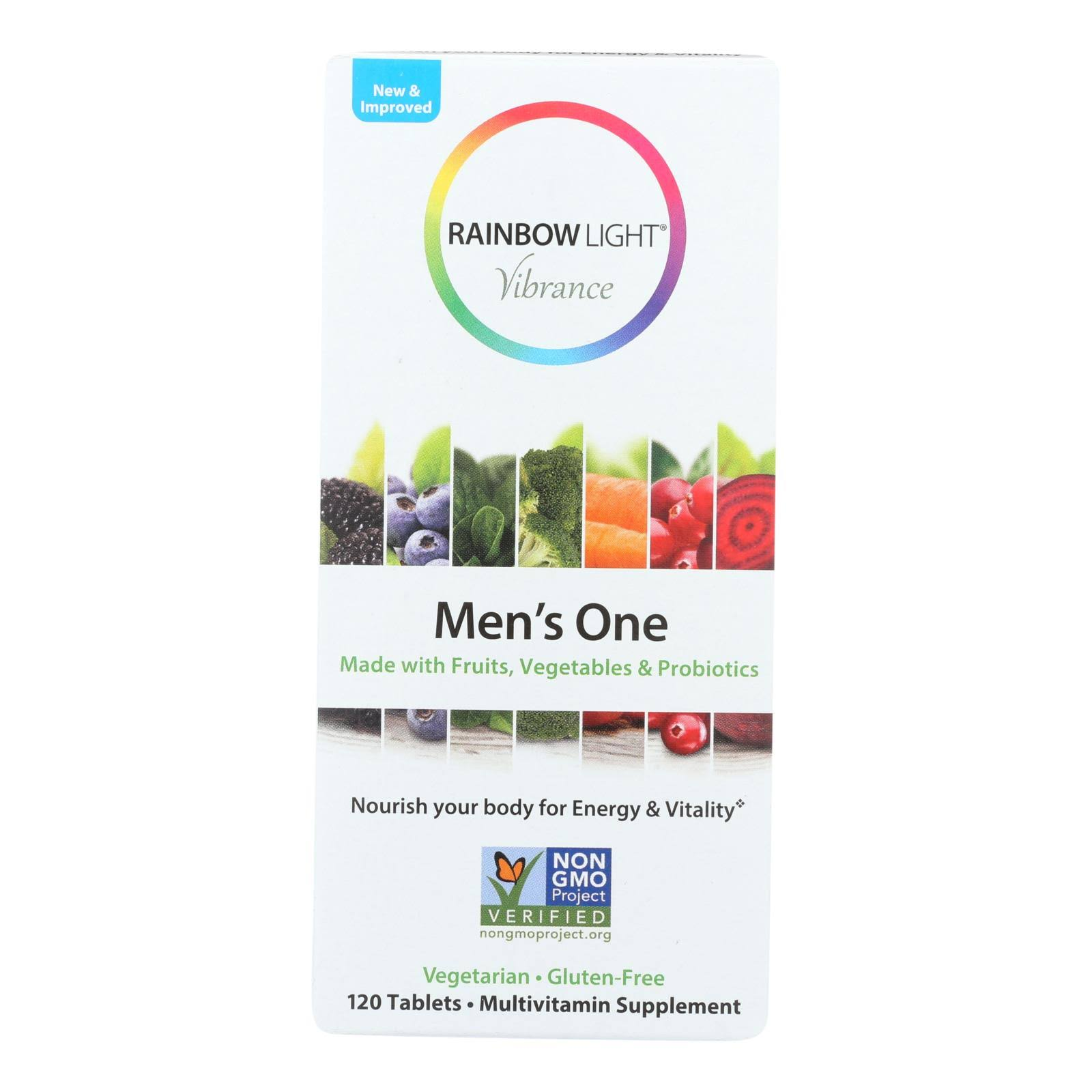 Rainbow Light Men's One, Vibrance - 120 tablets