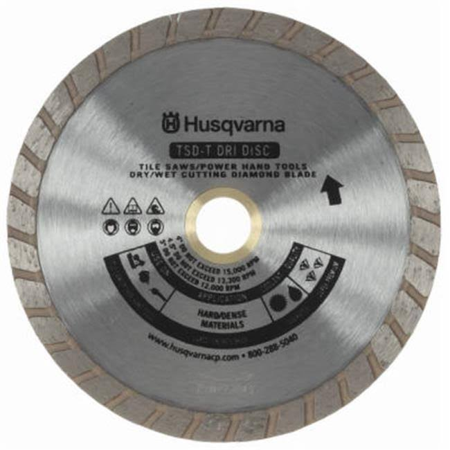 Husqvarna Turbo Rim Diamond Blade - 4.5""