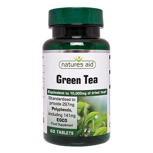 Nature's Aid Green Tea Supplement - 60 Tablets
