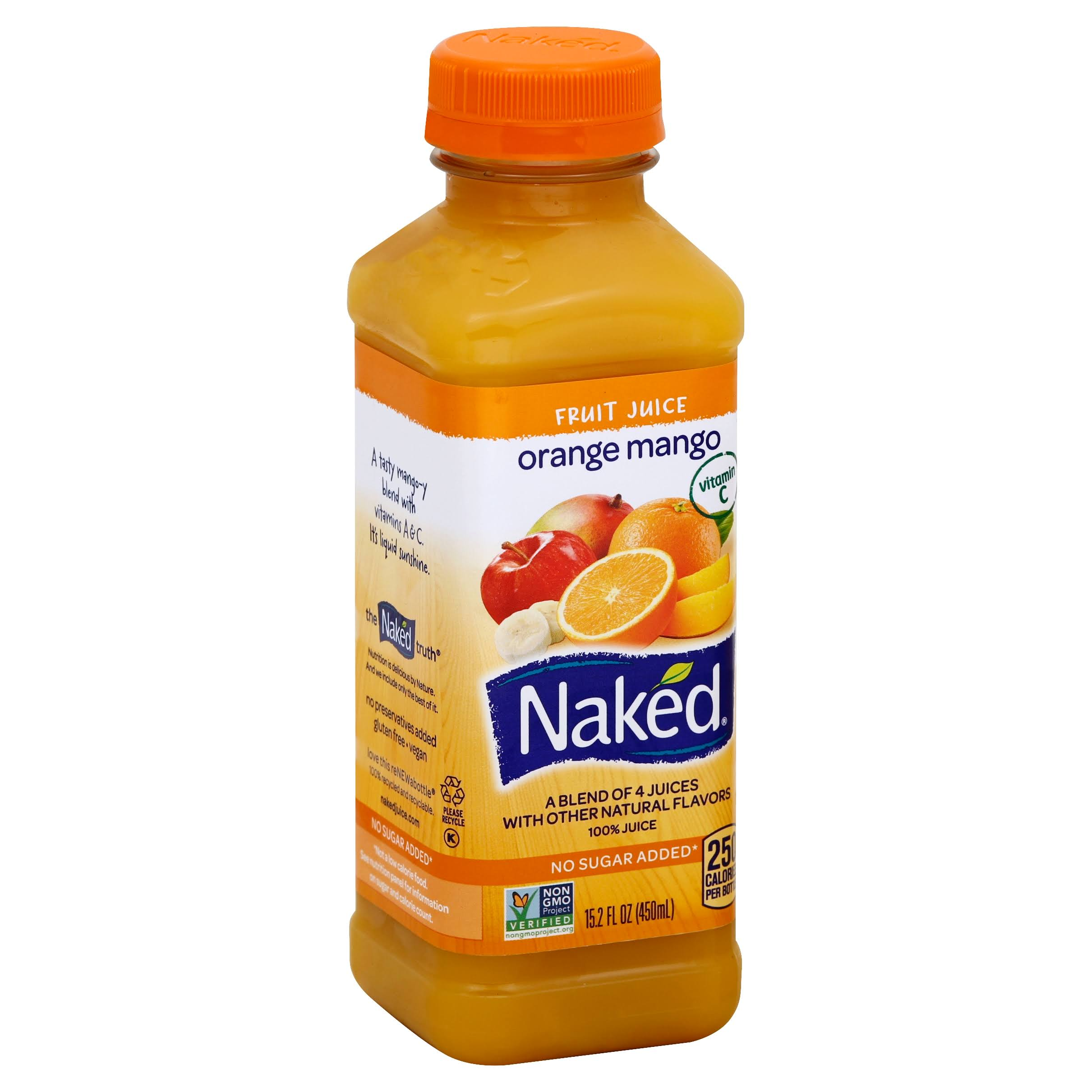 Naked Juice Smoothie - Orange Mango Motion, 15.2oz