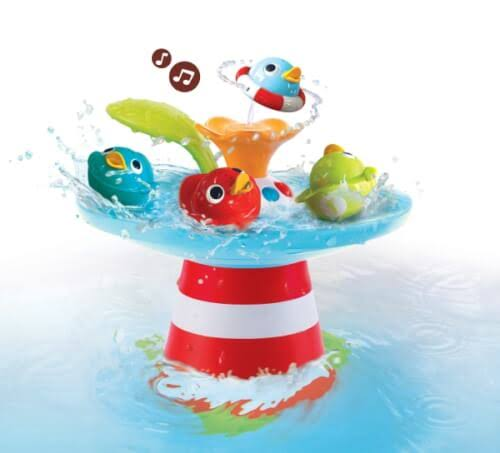 Yookidoo Musical Duck Race with Auto Fountain Water Pump