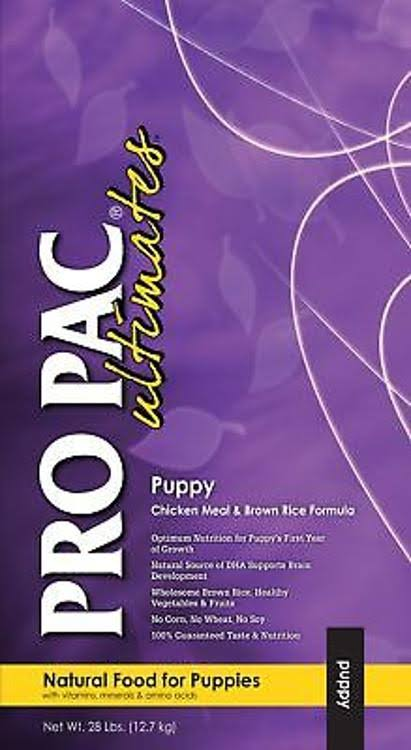 Midwestern Pet Foods Pro Pac Ultimates Puppy Dry Dog Food - Chicken Meal & Brown Rice Formula, 28lb