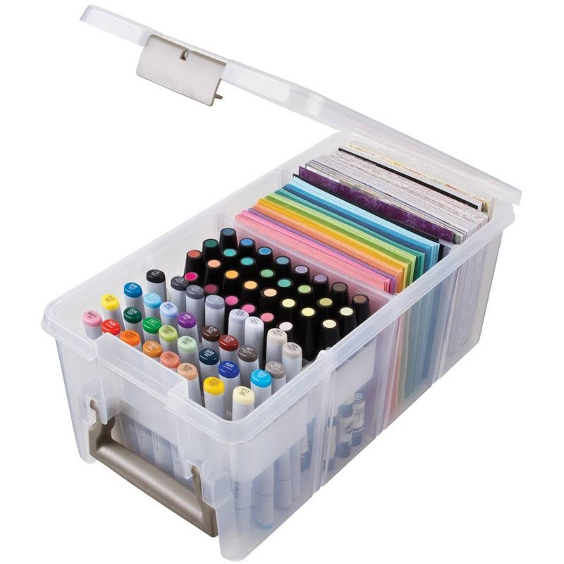 "Artbin Marker Storage Satchel - Clear, 15.25"" x 8"""