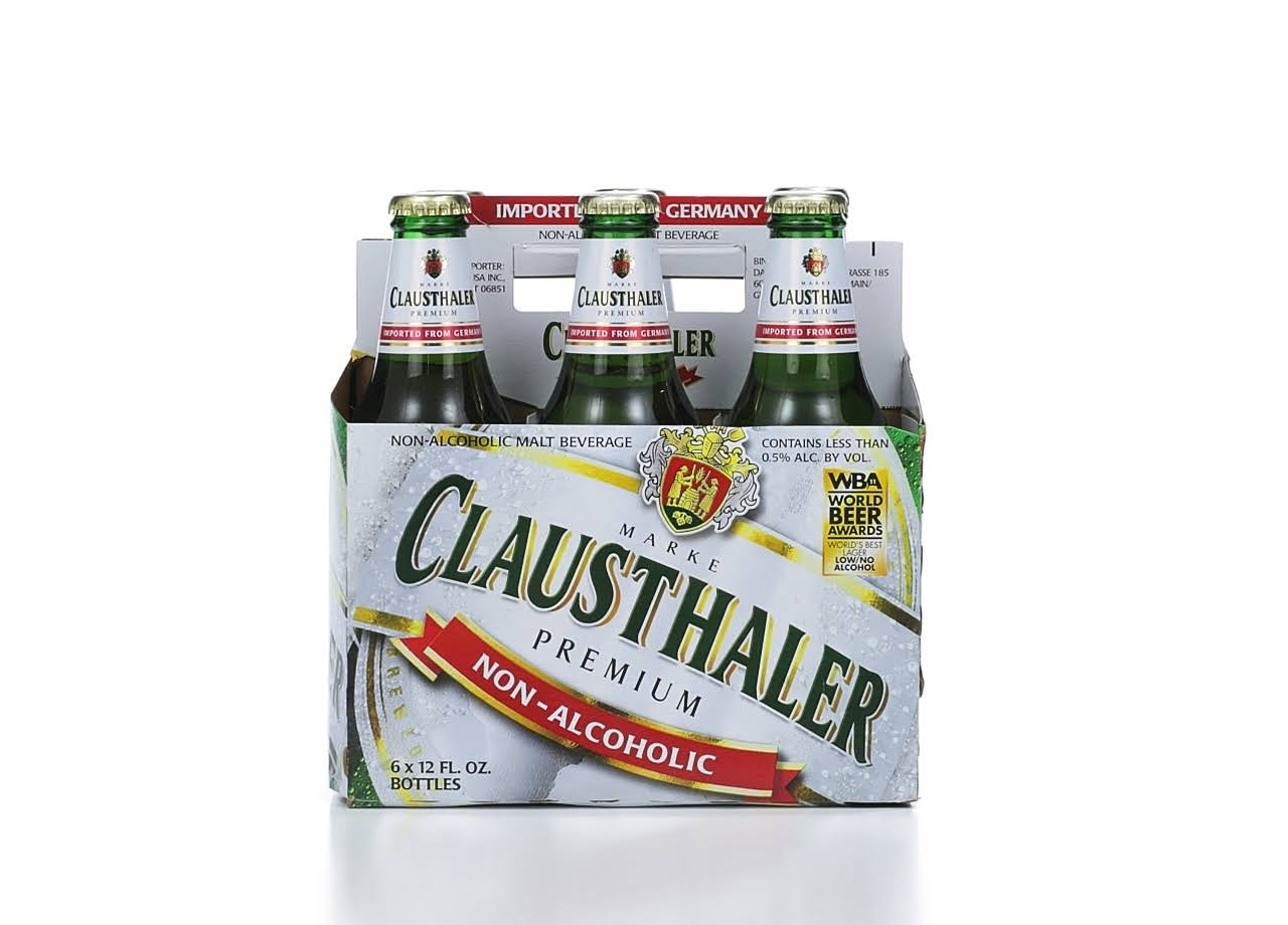 Clausthaler Non-Alcoholic Malt Beverage - 6 Pack, 12oz