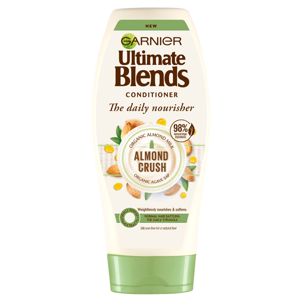 Garnier Ultimate Blends Almond Milk Normal Hair Conditioner - 360ml