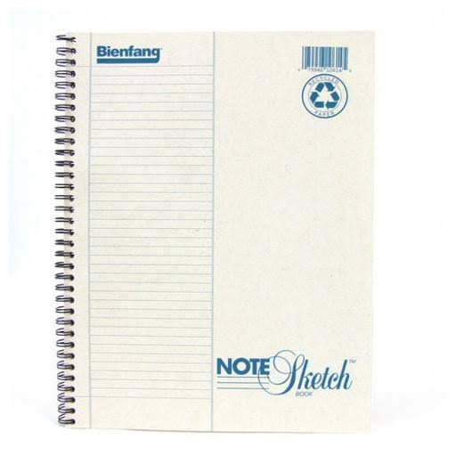 "Bienfang Notesketch Paper Pad - Vertical Lined, 64 Sheets, 8.5"" x 11"""