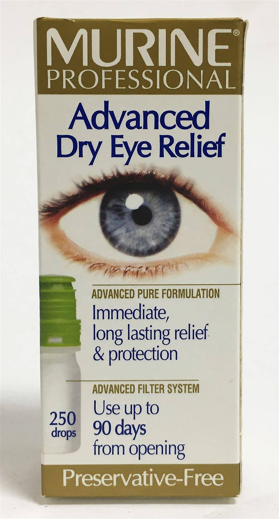 Murine Advanced Dry Eye Relief Eye Drops - 10ml