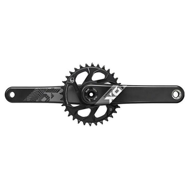SRAM X01 Eagle Carbon DUB Crankset - 175mm Direct Mount, 32T X-Sync 2 Chainring, Black
