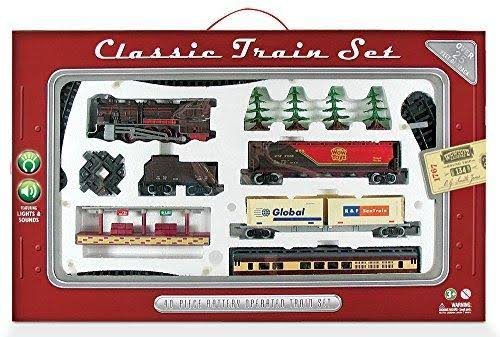 WowToyz Classic Train Set - 40 Pieces
