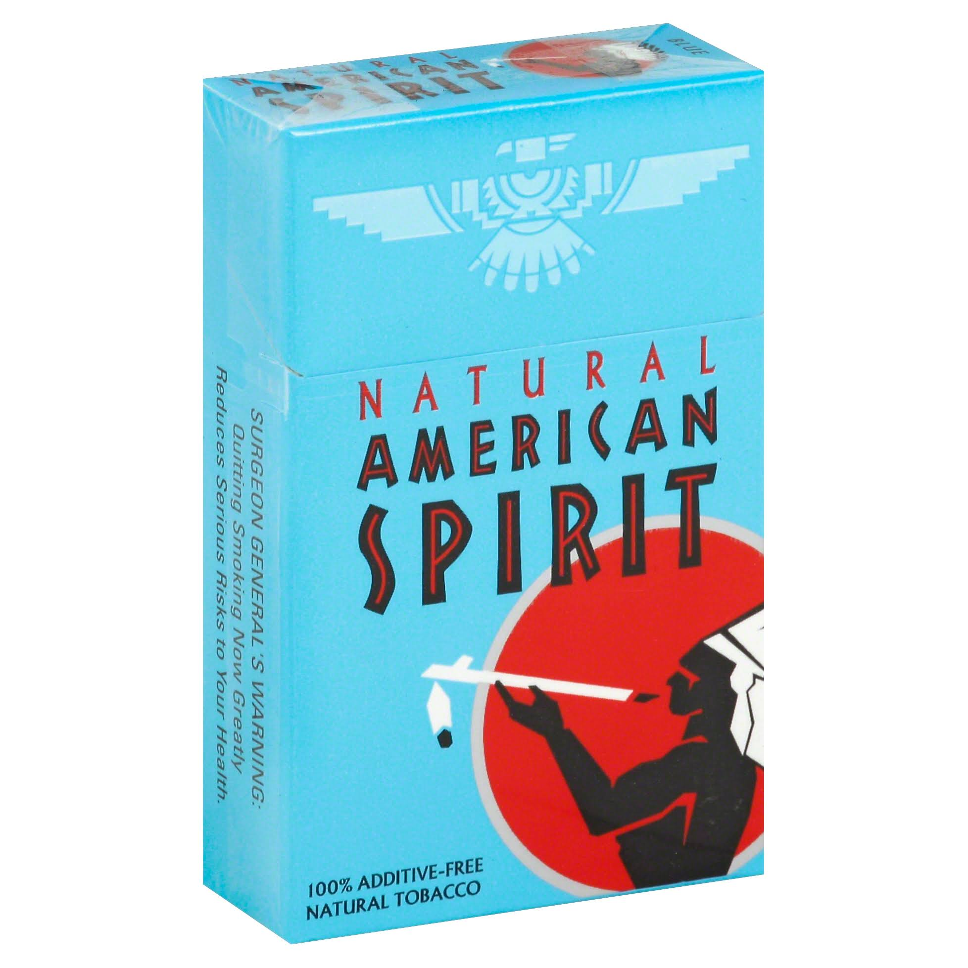 Natural American Spirit Cigarettes, Blue - 20 cigarettes