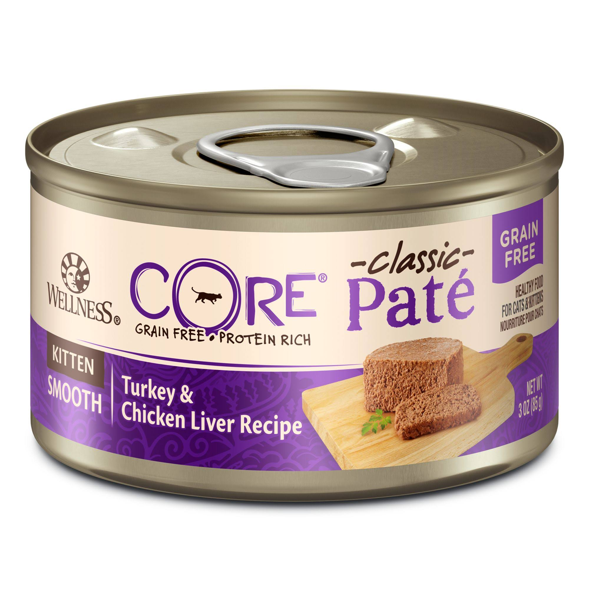 Wellness Core Kitten Turkey & Chicken Liver Recipe - 3oz
