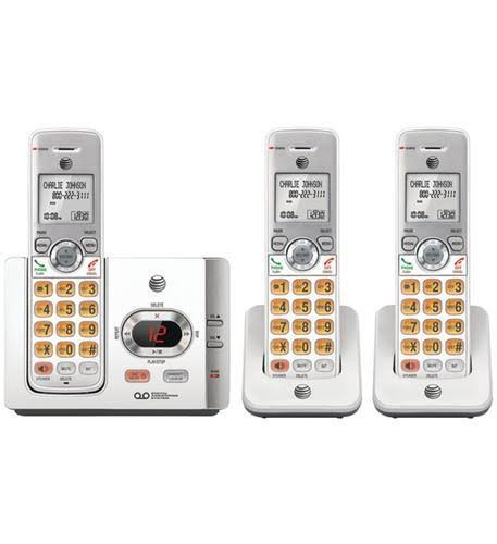 AT and T EL52315 Dect 6.0 Answering System - with Caller ID, Call Waiting Landline Telephone Accessory