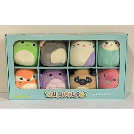 Squishmallows Kellytoy 8 Pack Plush Set