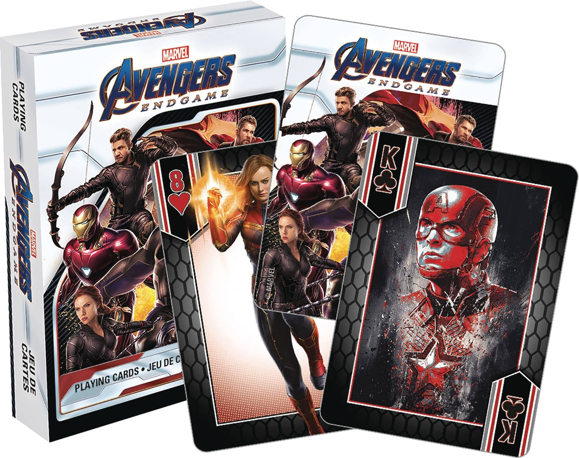 Marvel Avengers Endgame Playing Cards