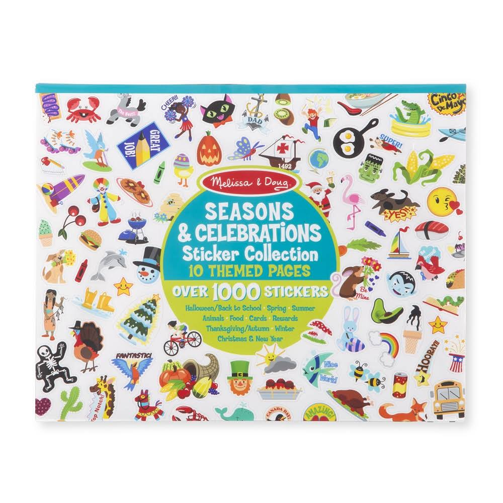 Melissa & Doug Sticker Collection - Seasons and Celebrations