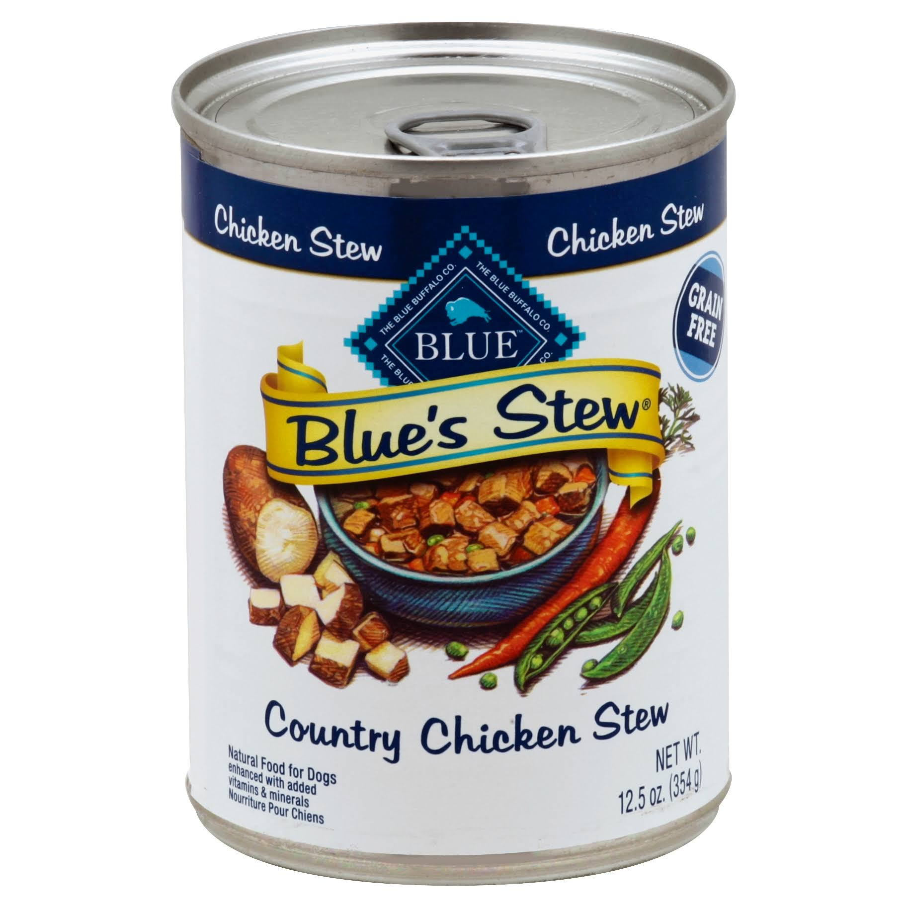 Blue Blue's Stew Natural Dog Food - Country Chicken Stew