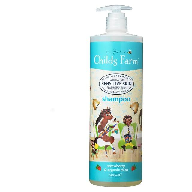 Childs Farm Shampoo - Strawberry and Organic Mint, 500ml
