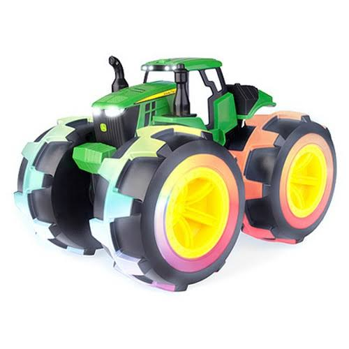 John Deere Monster Treads Deluxe Lightning Wheels Tractor