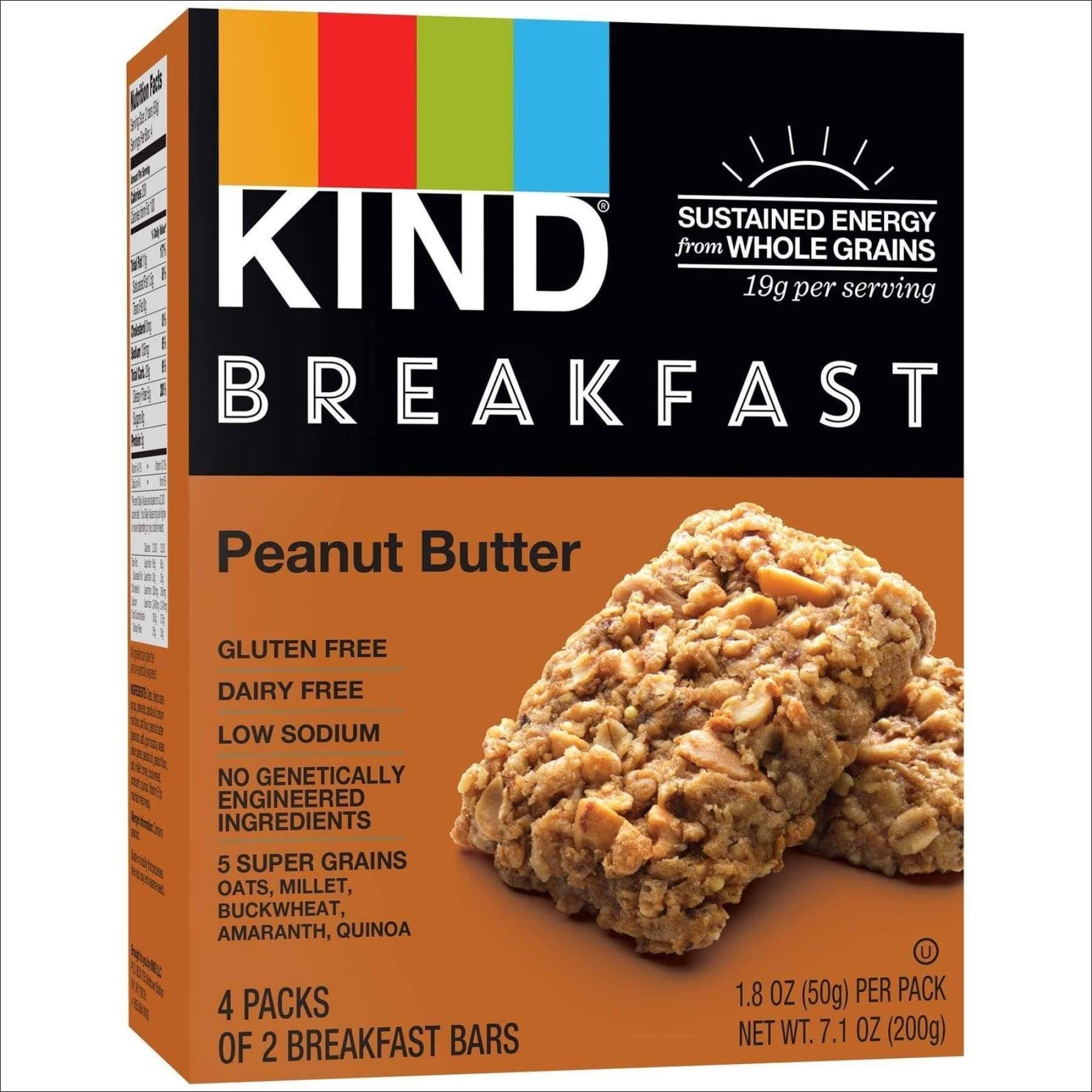 Kind Peanut Butter Breakfast Bar - Peanut Butter