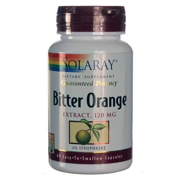 Solaray Bitter Orange Extract Dietary Supplement - 60ct
