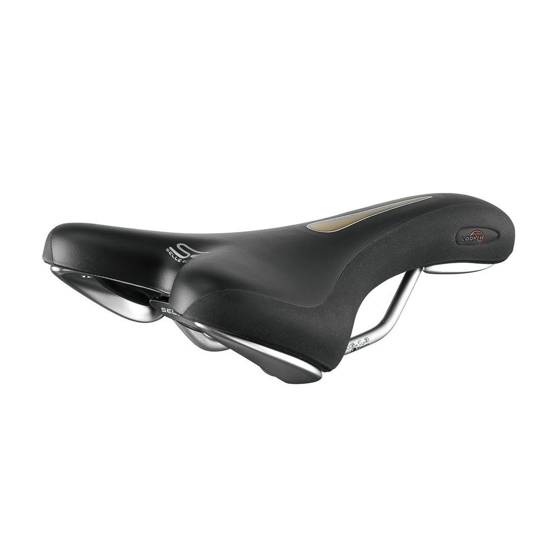 Selle Royal Lookin Sport Cool Xsenium Bicycle Saddle - Black