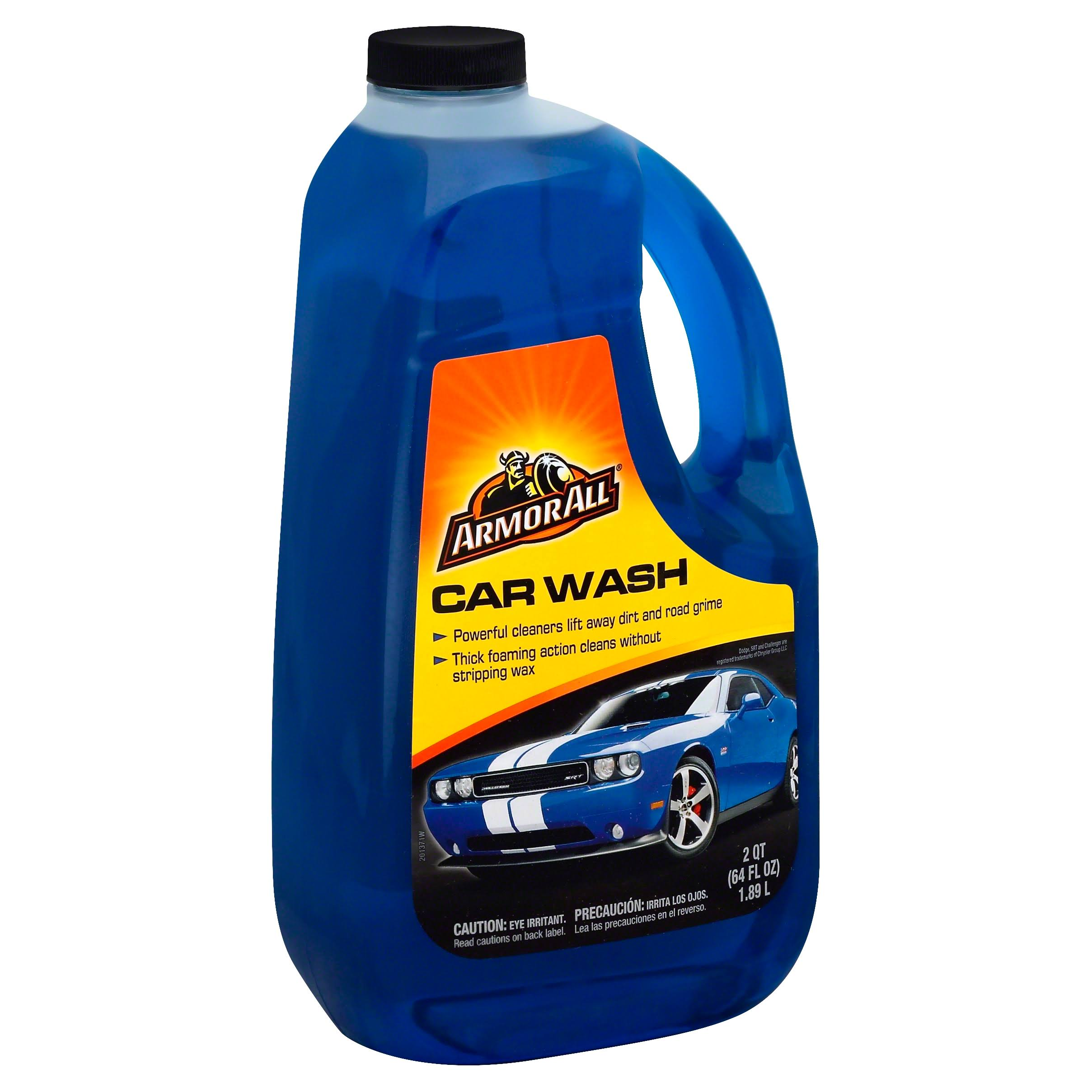 Armor All 25464 Car Wash Concentrated Liquid - 64oz