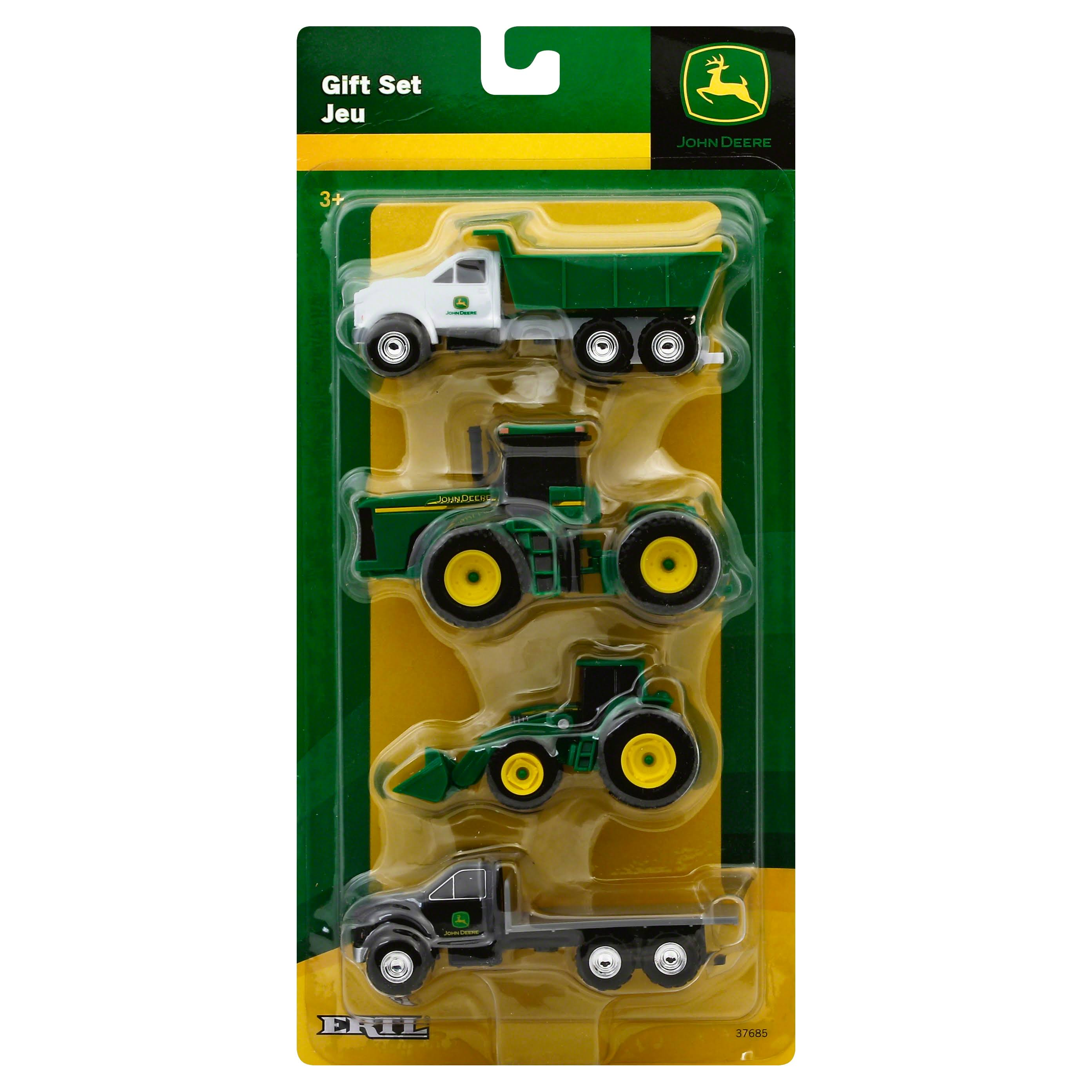 John Deere Construction Vehicle - 4 Pack