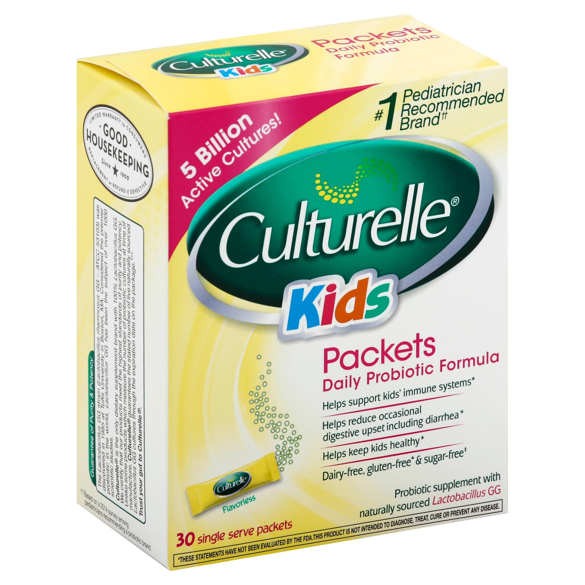 Culturelle Probiotic for Kids Dairy Formula - 30 Powder Packets