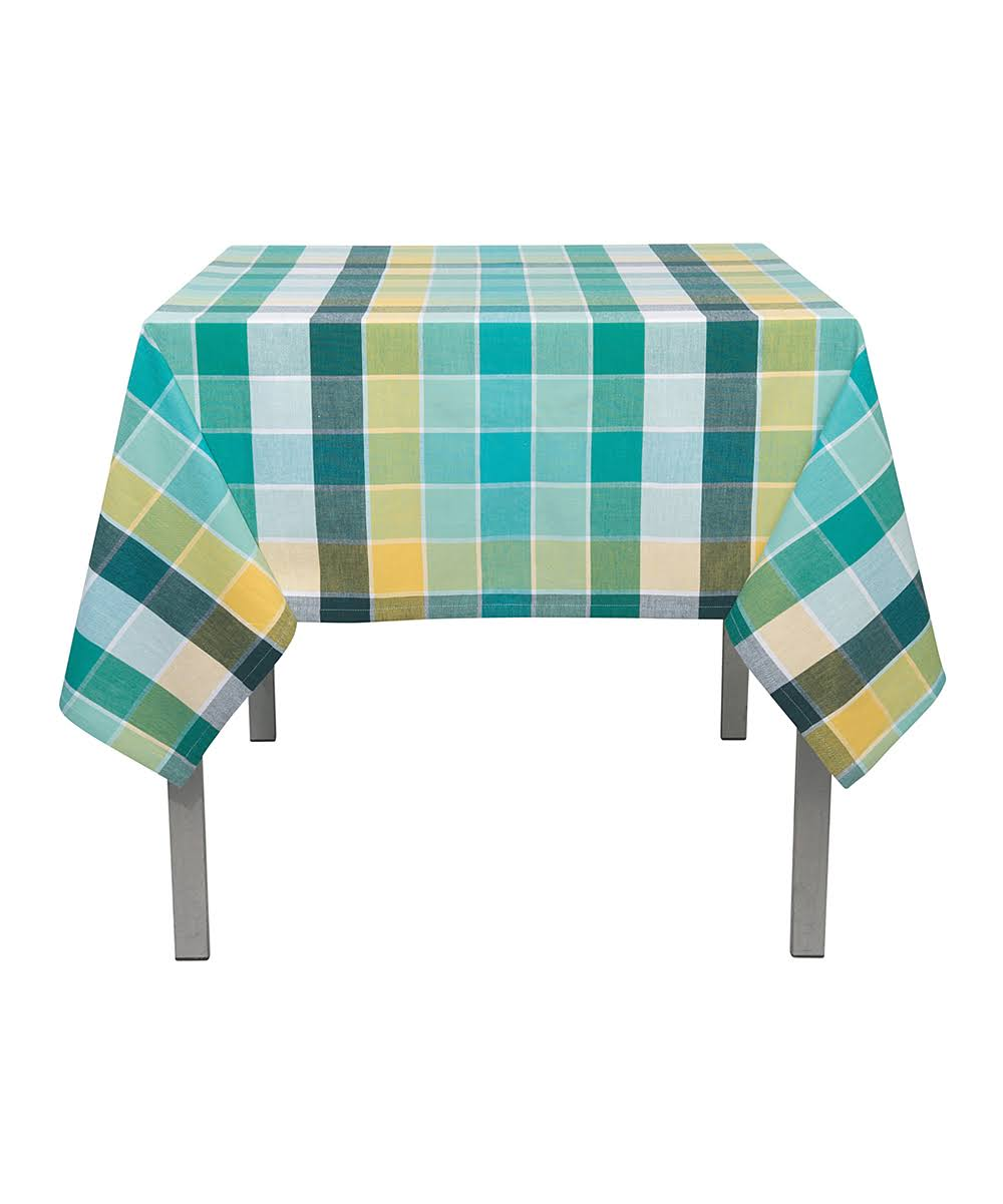 Now Designs Tablecloth 60 by 120 Inches Field Day Plaid