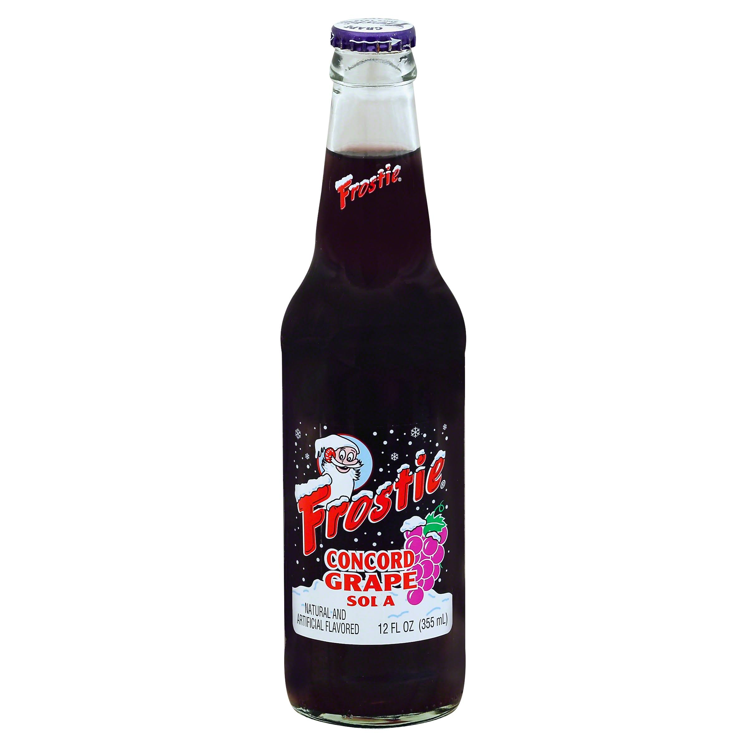 Frostie Concord Grape Soda - 12oz