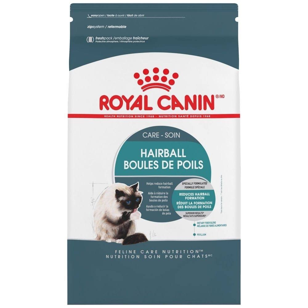 Royal Canin Dry Cat Food - Intense Hairball 34 Formula, 3lbs
