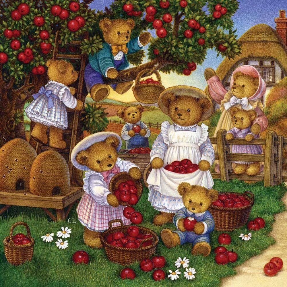 The Jigsaw Puzzle Factory The Apple Harvest Jigsaw Puzzle