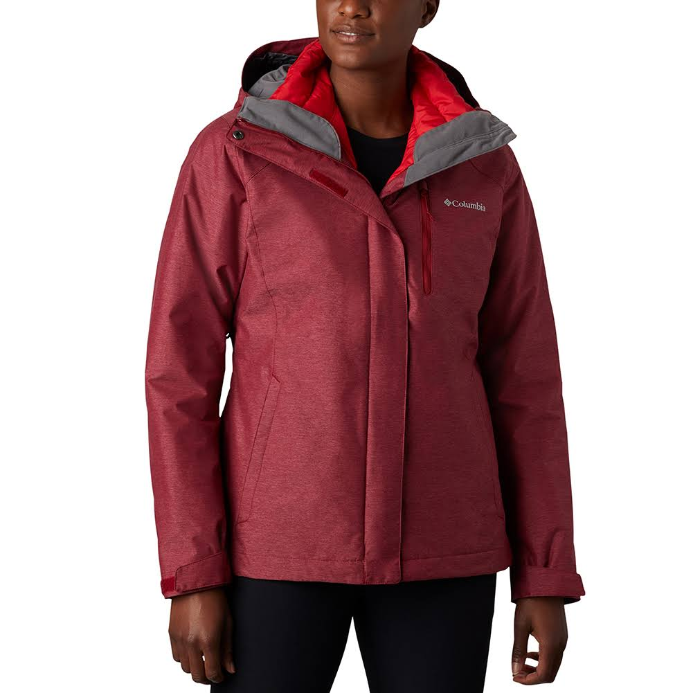 Columbia Women's Whirlibird IV Interchange 3-in-1 Jacket Red XL