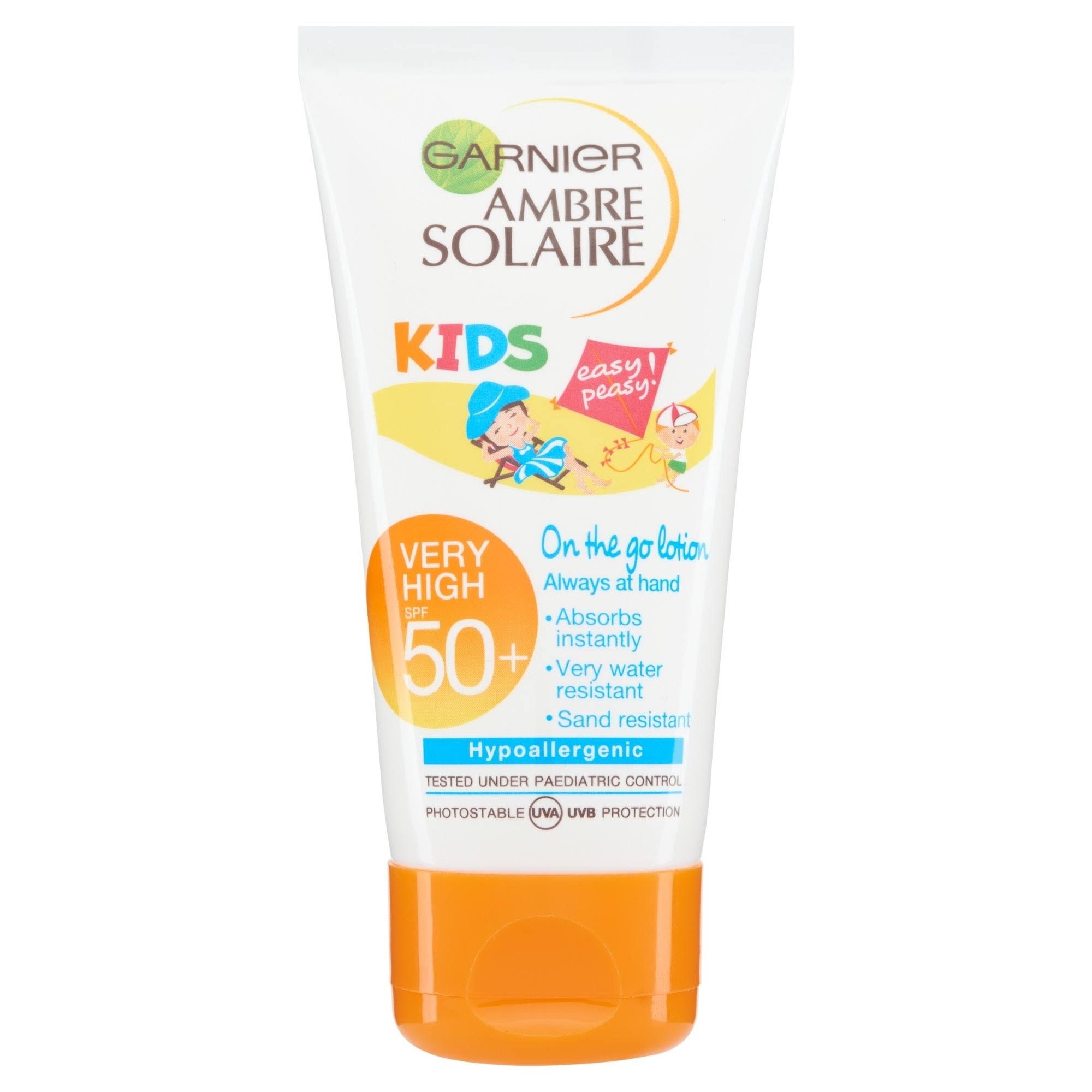 Garnier Ambre Solaire Kids Sensitive Sun Cream - SPF50, 50ml