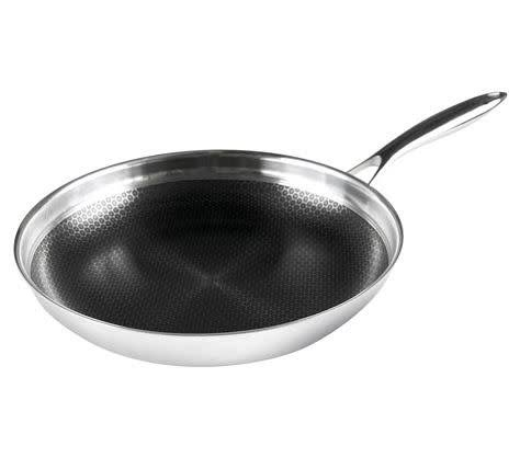 Frieling Black Cube 3-Ply Stainless Steel Nonstick Fry Pan - 12.5""