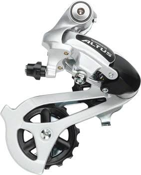 Shimano Altus Mountain Bike Rear Derailleur - Silver
