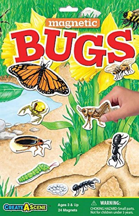 "Patch Products Create-A-Scene Magnetic Playset - Bugs, 18"" X 14"""