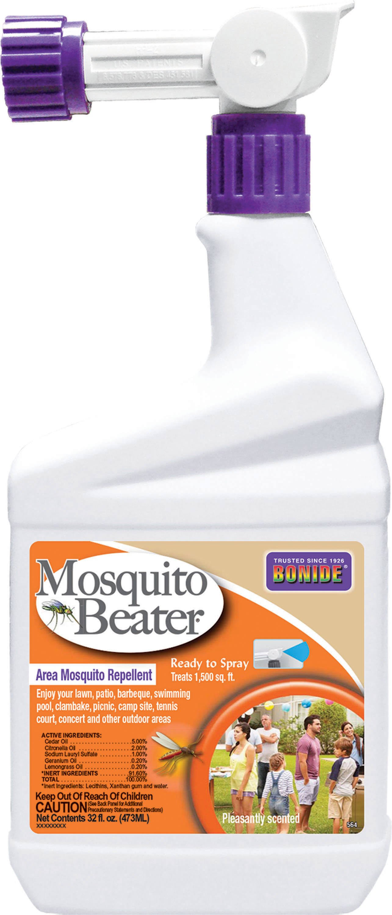 Bonide Products Mosquito Beater - Natural, 1 Quart